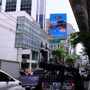 ป้ายโฆษณา LED สุขุมวิท 26 มุ่งหน้าเข้าเมือง