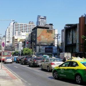 ป้ายโฆษณา LED ราชเทวี ถนนเพชรบุรี