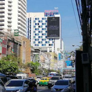 ป้ายโฆษณา LED ห้าง Shibuya ถนนเพชรบุรี ประตูน้ำ