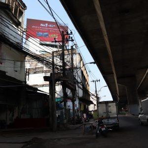 ป้ายโฆษณา led ทางด่วนพระราม 4 ถนนจารุจิตร มุ่งหน้าแจ้งวัฒนะ