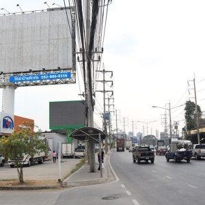 ป้ายบิลบอร์ดนนทบุรี ถนนติวานนท์ ขาเข้าเมือง